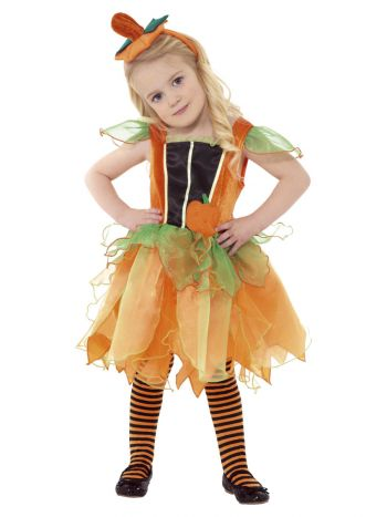 Pumpkin Fairy Costume, Orange