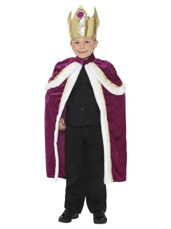 Kiddy King/Queen Costume, Purple