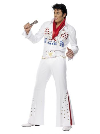 Elvis American Eagle Costume, White