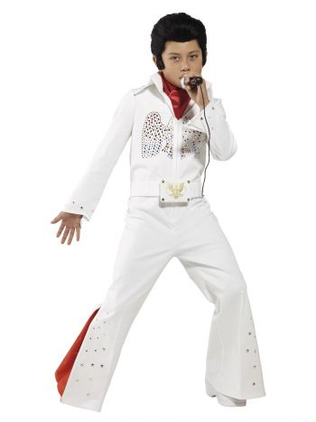 Elvis Costume, White