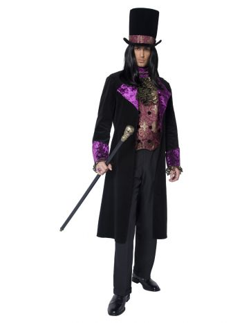 The Gothic Count Costume, Black