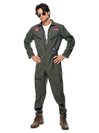 Top Gun Costume, Green