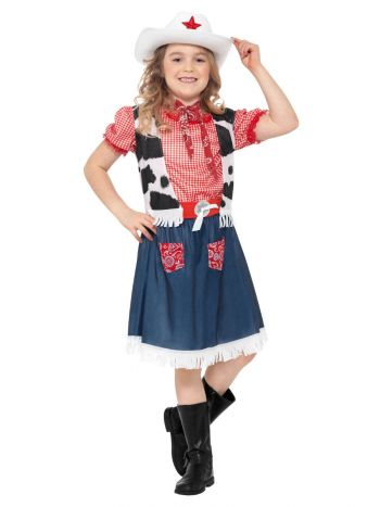 Cowgirl Sweetie Costume, Blue