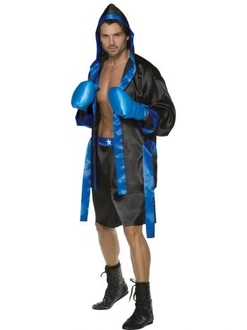 Boxer Costume, Black