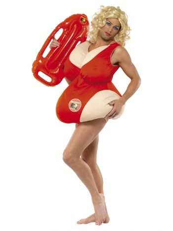 Baywatch Costume, Red