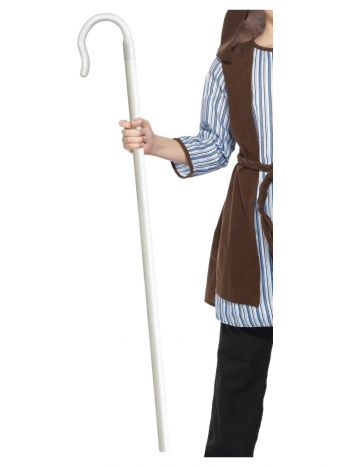 Shepherds Extendable Staff, White