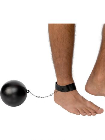 Ball and Chain for Convicts and Stags, Black