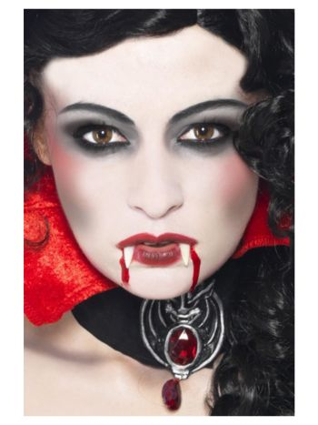 Smiffys Make-Up FX, Vampire Kit, White & Red