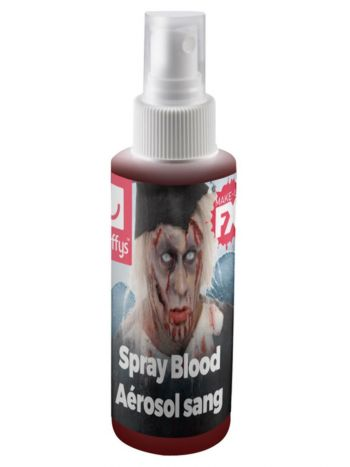 Smiffys Make-Up FX, Spray Blood, Red