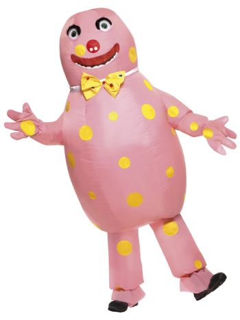 Mr Blobby Costume, Pink