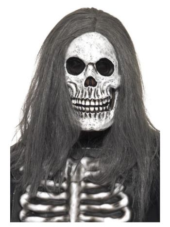 Sinister Skeleton Mask, Grey
