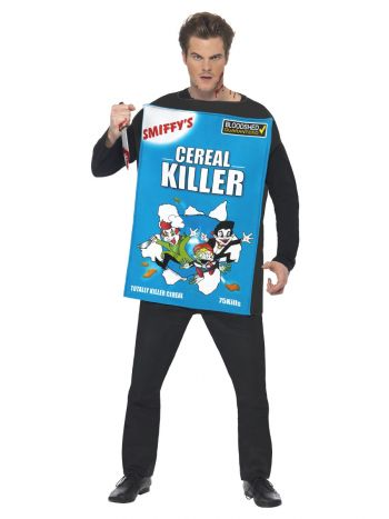 Cereal Killer Costume, Blue