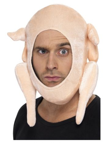 Stuffed Turkey Hat, Pink