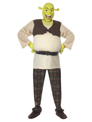 Shrek Costume, Green
