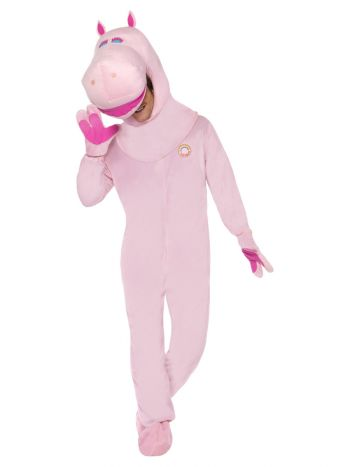Rainbow George Costume, Pink