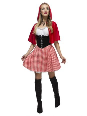 Fever Red Riding Hood Costume, Red