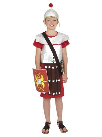 Roman Soldier Costume, Red