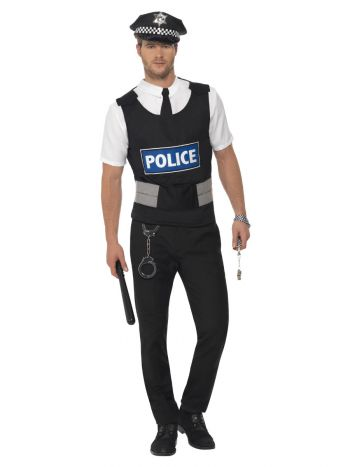 Policeman Instant Kit, Black