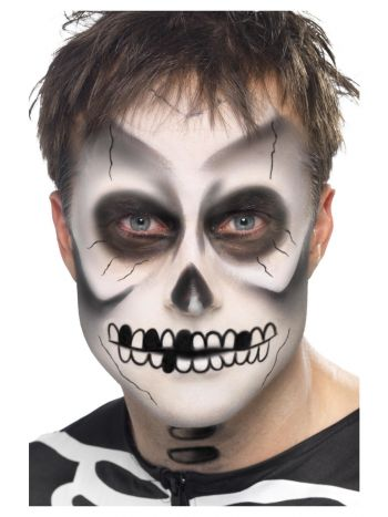 Smiffys Make-Up FX, Skeleton Kit, Black & White