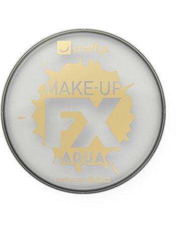 Smiffys Make-Up FX, Metallic Silver