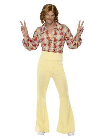 1960s Groovy Guy Costume, Patterned