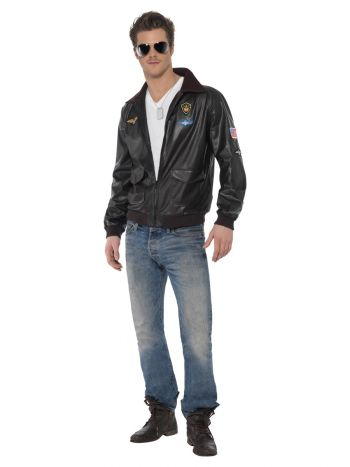 Top Gun Bomber Jacket, Brown
