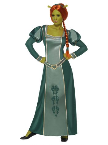 Shrek Fiona Costume, Green
