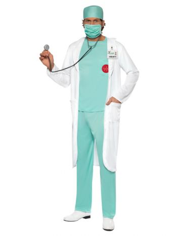 Doctor Costume, Green