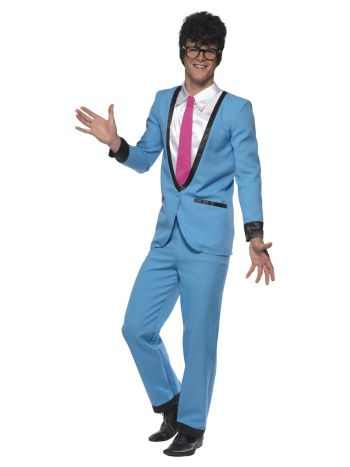 Teddy Boy Costume, Blue