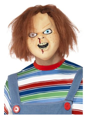 Chucky Latex Mask, Brown