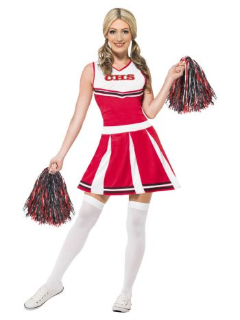 Cheerleader Costume, Red