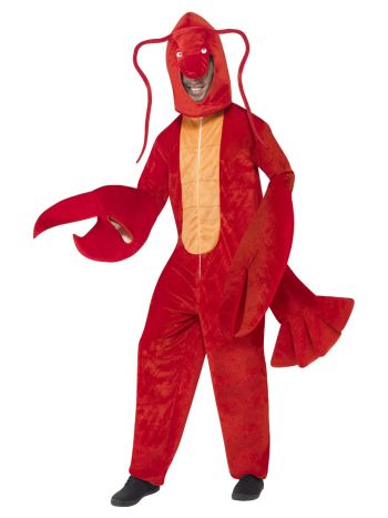 Lobster Costume, Red