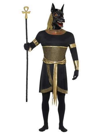 Anubis the Jackal, Black & Gold
