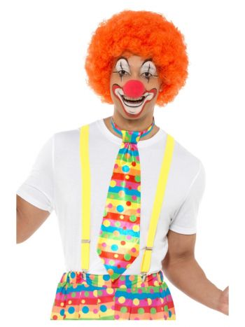 Big Top Clown Tie, Neon