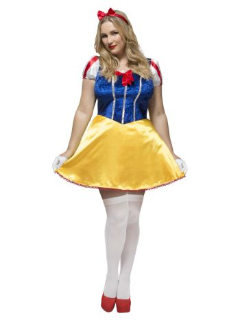Fever Curves Fairytale Costume, Blue