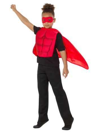 Kids Superhero Kit, Red
