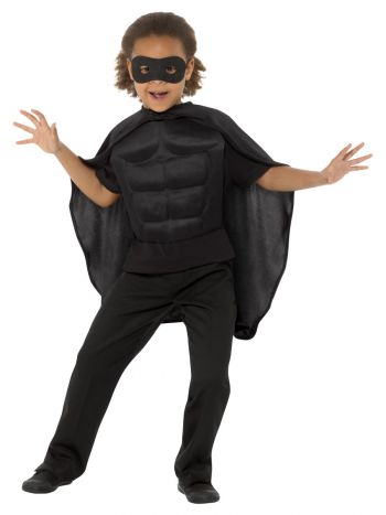 Kids Superhero Kit, Black