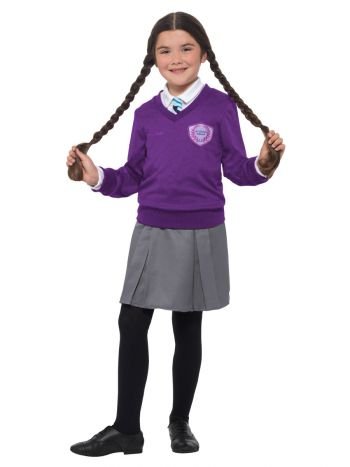 St Clare's Costume, Purple