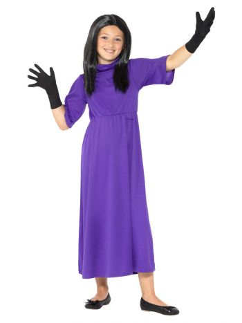 Roald Dahl Deluxe The Witches Costume, Purple