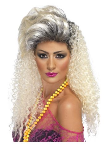 80s Bottle Wig, Blonde