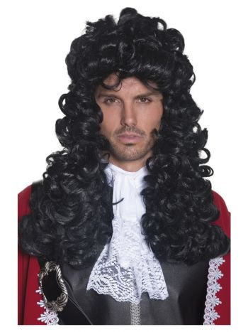 Pirate Captain Wig, Black