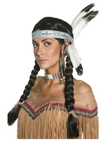 Native American Inspired Wig, Black
