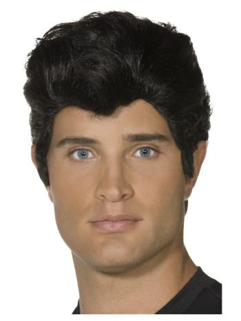 Grease Danny Wig, Black