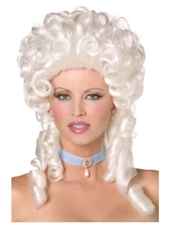Baroque Wig, White