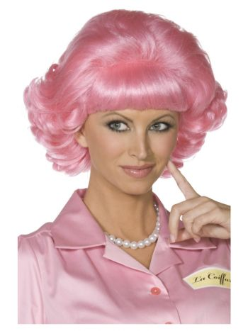 Grease Frenchy Wig, Pink