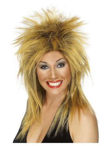 Rock Diva Wig, Ginger