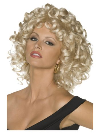 Grease Sandy Last Scene Wig, Blonde