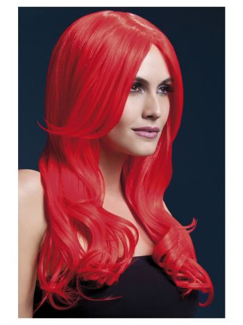 Fever Khloe Wig, Neon Red