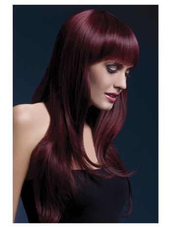 Fever Sienna Wig, Black Cherry