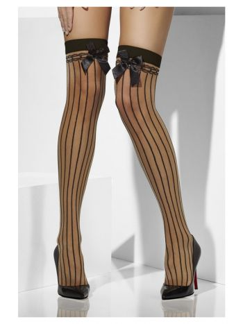 Sheer Hold-Ups, Nude